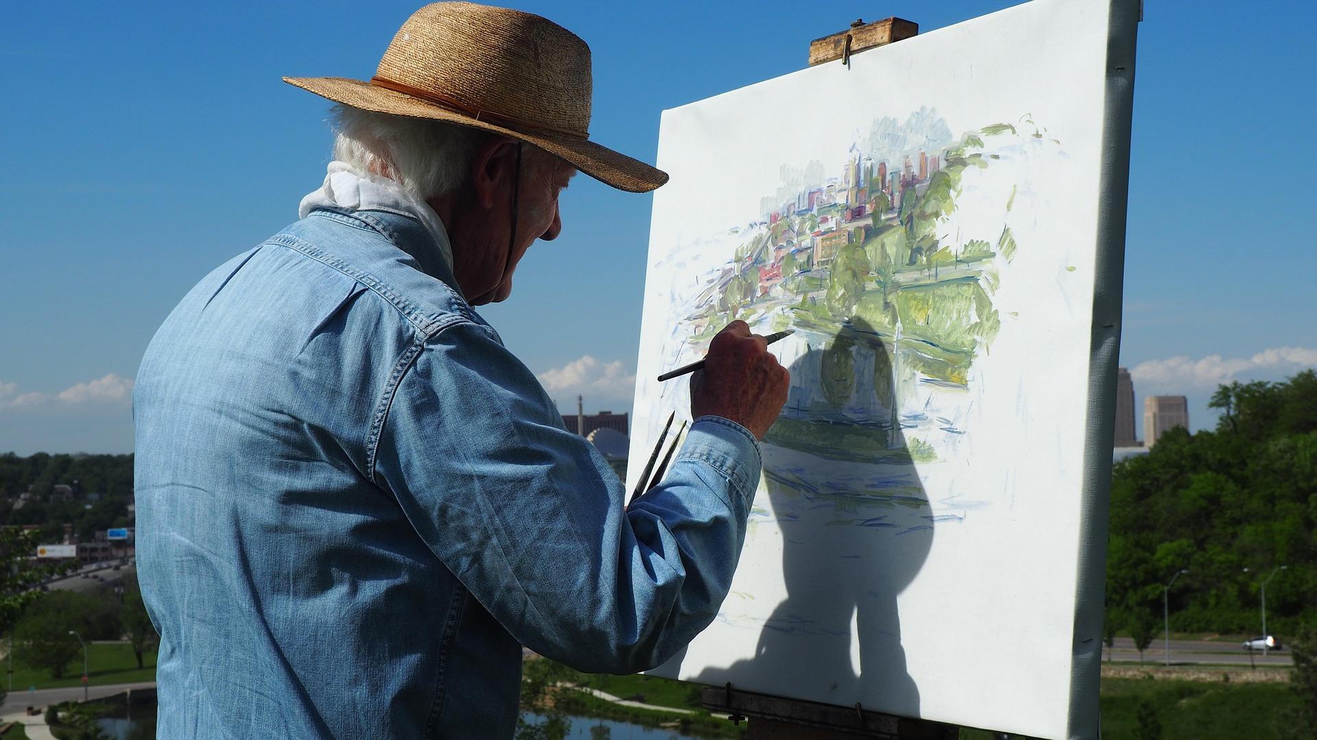 painting 1380016 1920 - 6 excelentes juegos para estimular la mente del adulto mayor